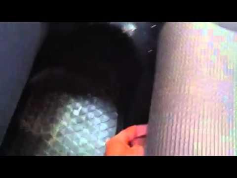 Раскладывание задних сидений Golf V Variant
