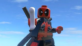 getlinkyoutube.com-LEGO Marvel Superheroes - ULTIMATE DEADPOOL FREE ROAM GAMEPLAY (MOD SHOWCASE)