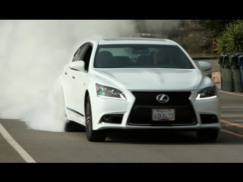 Lexus LS460 F-Sport Review - One Take