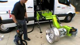 getlinkyoutube.com-Mobile Tire Changer WS-561-C