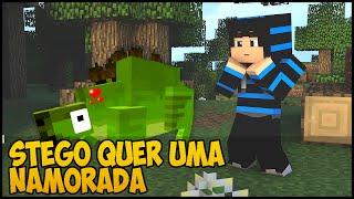 getlinkyoutube.com-Minecraft: DinoCraft #12 - Stego quer uma namorada!