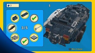 getlinkyoutube.com-ALL 15 Golden Instruction Builds Gameplay Showcase - The LEGO Movie Videogame