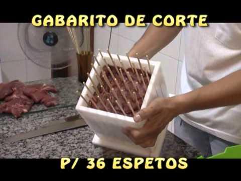MÁQUINA DE ESPETINHOS 02  - VENDAS NO MERCADO LIVRE