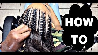 getlinkyoutube.com-#194. Stitch Braids 4 BEGINNERS