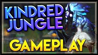getlinkyoutube.com-Kindred Gameplay Jungle - LoL Kindred Full Gameplay Jungle - League of Legends PBE