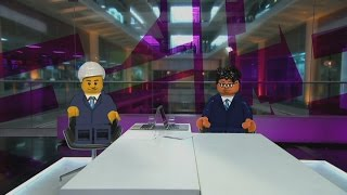 getlinkyoutube.com-Lego Jon Snow & Krishnan Guru-Murthy on Lego, Greenpeace & Shell | Channel 4 News