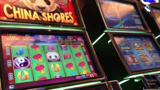 getlinkyoutube.com-BIG WIN High Limit Slot Multiple Retrigger China Shores Handpay Jackpot San Manuel High Roller Slots