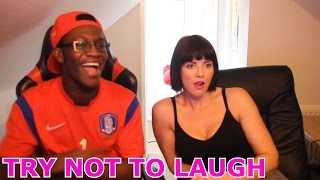getlinkyoutube.com-Try Not To Laugh Challenge With My Girlfriend