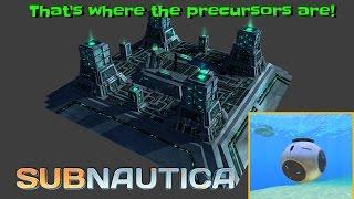 getlinkyoutube.com-THAT'S where the Precursors are! - New precursor cache & more! | Subnautica News #44