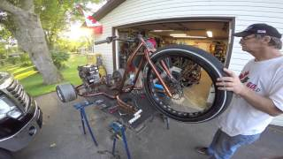 Motorized Drift Trike Part 2