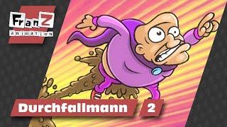 getlinkyoutube.com-Durchfallmann 2 - Kettenkarussell ist außer Kontrolle - Cartoons deutsch HD