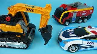 TOBOT CarBot heavy rescue transformers car toys 또봇 토네이도 변신카