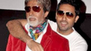 getlinkyoutube.com-Amitabh Bachchan & Abhishek promote Bbuddah...Hoga Terra Baap