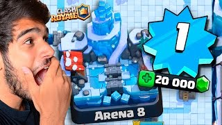 getlinkyoutube.com-CHEGUEI NA ARENA 8 NO NÍVEL 1 MAIS GEMADO DO CLASH ROYALE