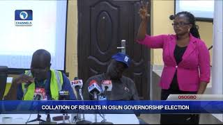 Collation Of Results In Osun Governorship Election Pt.6 |Osun Decides|