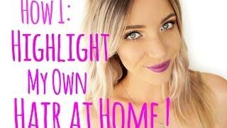 getlinkyoutube.com-How to Highlight your Hair at Home! | Stephanie Lange