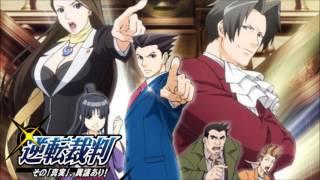 getlinkyoutube.com-Phoenix Wright ~ Objection! - Phoenix Wright: Ace Attorney Anime Music Extended