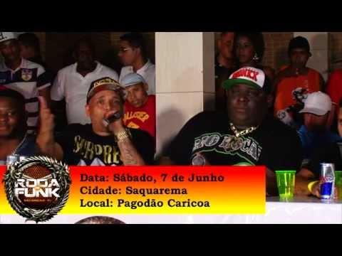 Chamada para a Roda de Funk na Região dos Lagos - Rio de Janeiro