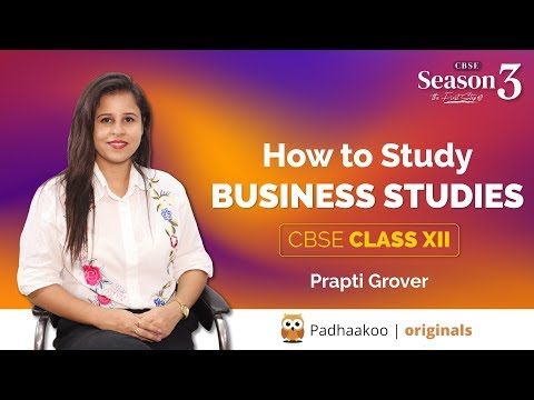 Padhaakoo | S3 E1 | How to Study | Business Studies