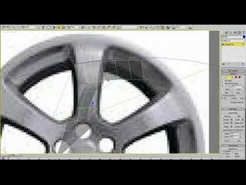 3ds Max - Rim tutorial part 1 of 2