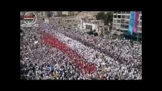 getlinkyoutube.com-المظاهرة المليونية في حماة - جمعة أحفاد خالد 22-7-2011
