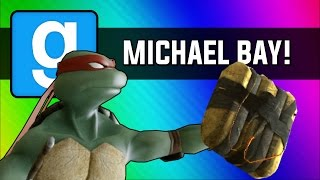 getlinkyoutube.com-Gmod: Michael Bay Movie - Ninja Turtle Chain Explosion (Garry's Mod Sandbox Funny Moments)
