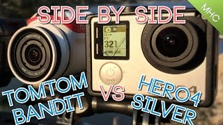 TomTom Bandit vs GoPro Hero4 Silver (HD)