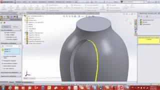 getlinkyoutube.com-Tutorial de Solidworks Superficies.3d Design,Surface