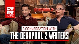 Deadpool 2 Writers On The Disney Joke They Had To Cut | SYFY WIRE
