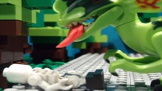 getlinkyoutube.com-Lego Jurassic world Brickfilm - Dinosaur breakout
