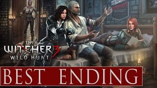 getlinkyoutube.com-Witcher 3 ★ The Best Ending Ever ★ Happy Ending Yennefer