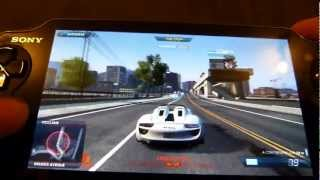 getlinkyoutube.com-NFS | Most wanted test (Ps vita)