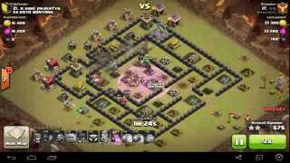 getlinkyoutube.com-WAR BASE TH 8 TERKUAT - ANTI NAGA GOLEM DAN PEKKA 100% WORK