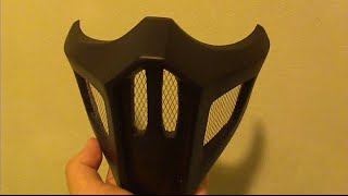 getlinkyoutube.com-Mortal Kombat - Noob Saibot's Mask DIY