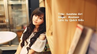 getlinkyoutube.com-Sunshine Girl - Moumoon [EngVer Lyric Kara]