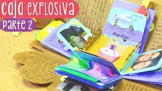 CAJA SORPRESA con laberinto - Tutorial Parte 2 (Exploding Box)  ✄ Craftingeek