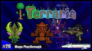 getlinkyoutube.com-Let's Play Terraria 1.2.4 || Mage Class Playthrough || Spectre Armour & Golem Battles! [Episode 26]