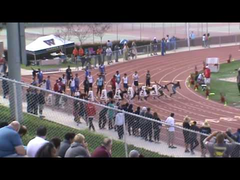 Redondo Invitational: Boys 100 Heat 4