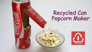 getlinkyoutube.com-How to Make a Recycled Can Popcorn Machine