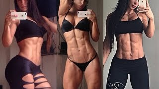 ANA COZAR Fitness and Workout Routine for  ABS, LEGS and BUTT