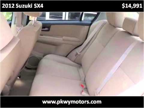 2012 Suzuki SX4 Used Cars Panama City FL