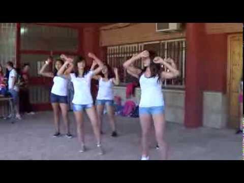 Baile chicas IES Juan de Távora Junio 2013