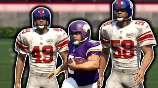 GIANT PLAYERS VS TINY PLAYERS! 12OVR VS 99OVR (Madden 16 NFL Challenge)