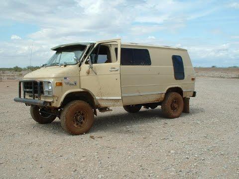 1979 gmc vandura 35 4x4 pathfinder conversion cold start