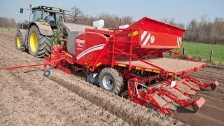 Grimme GL 430 potato planter with GR 300 Rota Tiller