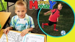 getlinkyoutube.com-First Day of School, First Day of Soccer || Mommy Monday