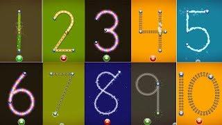 getlinkyoutube.com-LetterSchool Learn Numbers 1-10 - Best iPad app demo for kids