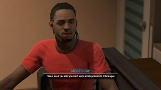 NBA 2K15 PS4 My CUHreer - Pimp Slap Block!
