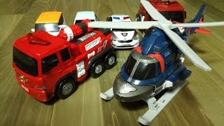 getlinkyoutube.com-또봇 소방차 R 헬리콥터 어드벤처 Y TOBOT Fire Engine Helicopter Transformers