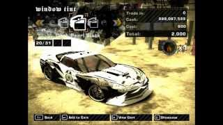 NFS Most Wanted - Tuning Police Chevrolet Corvette